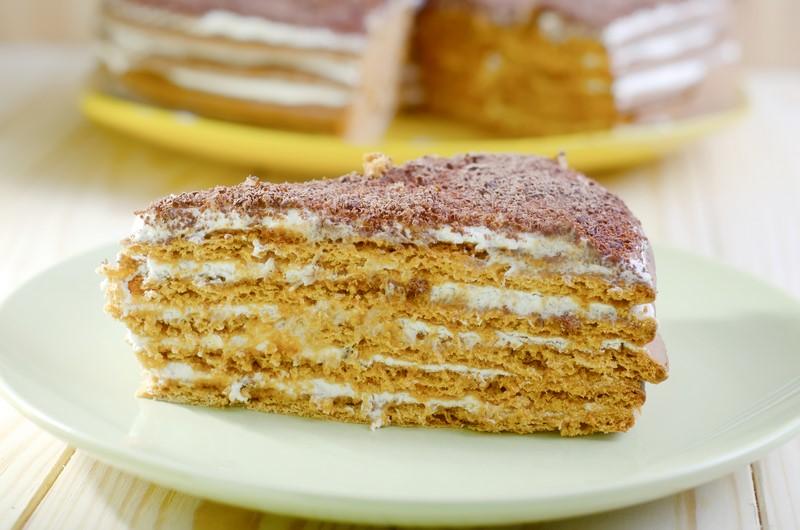 Рецепт приготовления торта из песочного теста