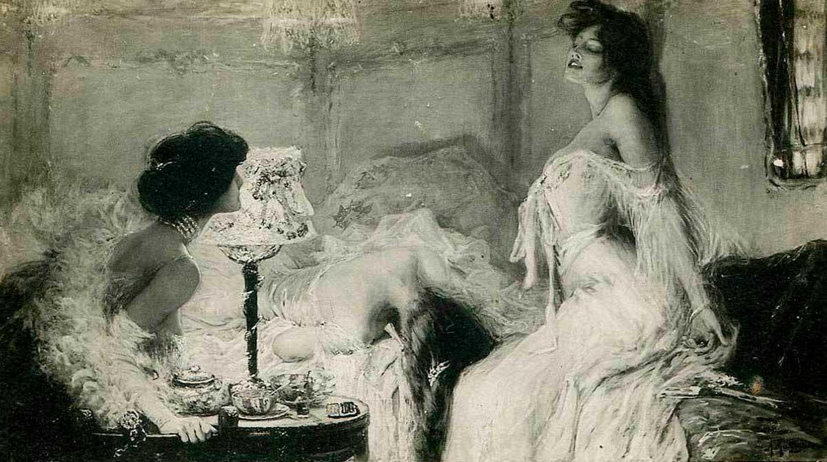 Как жили проститутки вцарск…