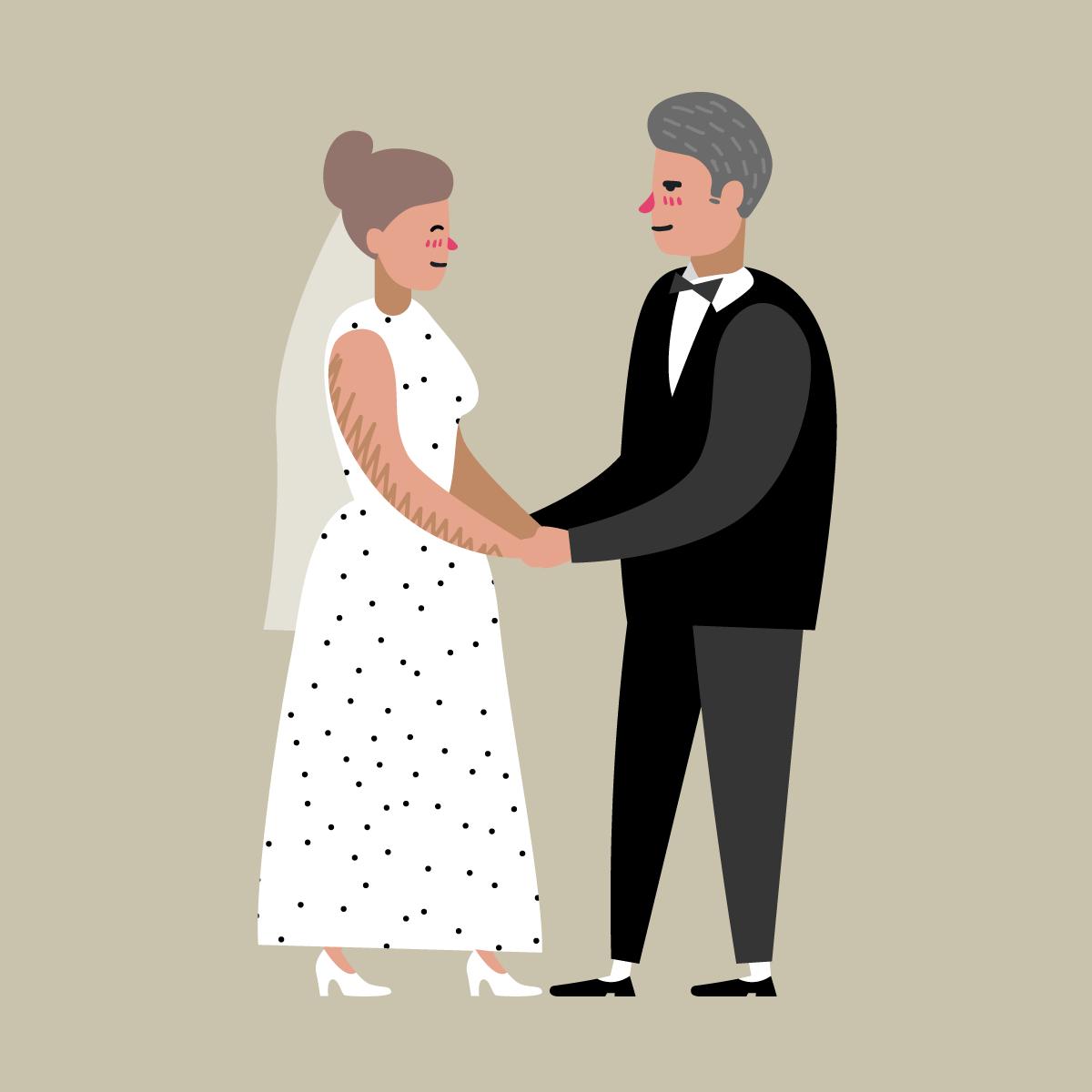 Анекдот про мужа, устроившего сюрприз жене впервую брачную ночь