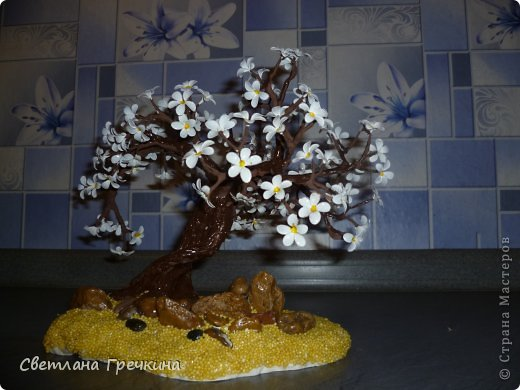 Весеннее дерево может сотворить каждый! (мастер-класс)