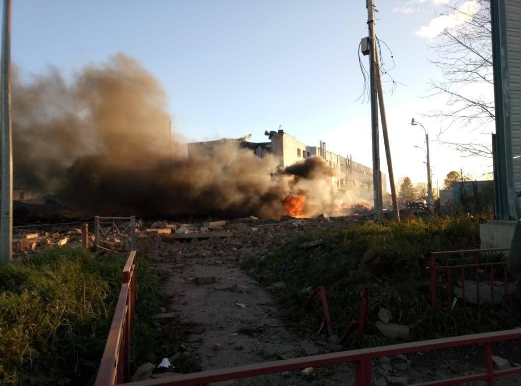 СК выяснил причину взрыва на заводе «Арсенал» в Гатчине