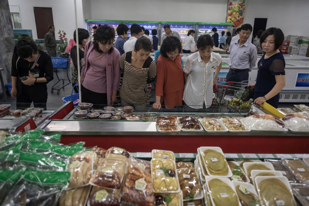 Магазин в в Пхеньяне