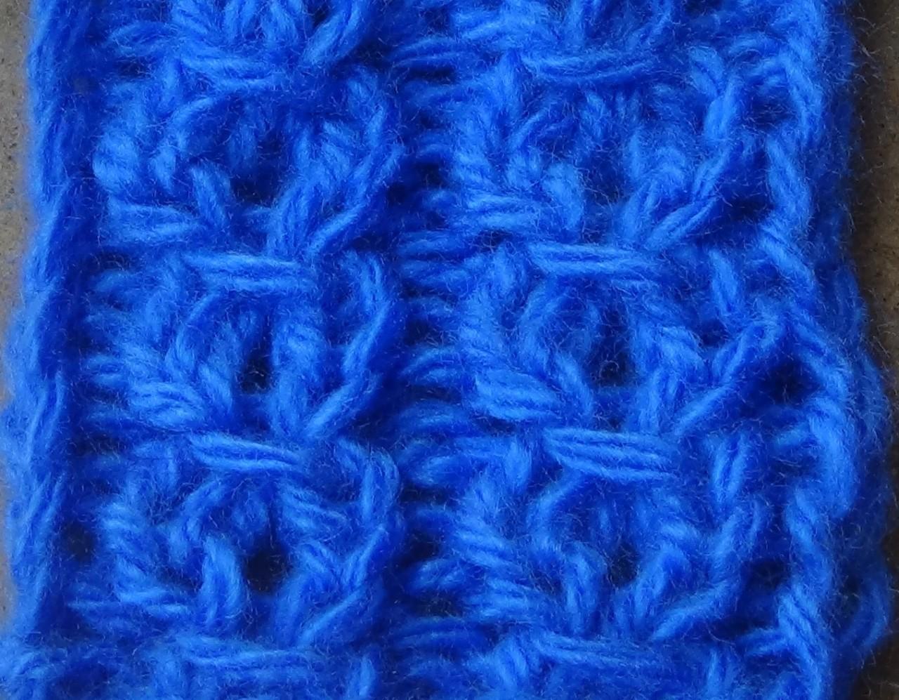 Узор спицами №1. Knitting pattern №1