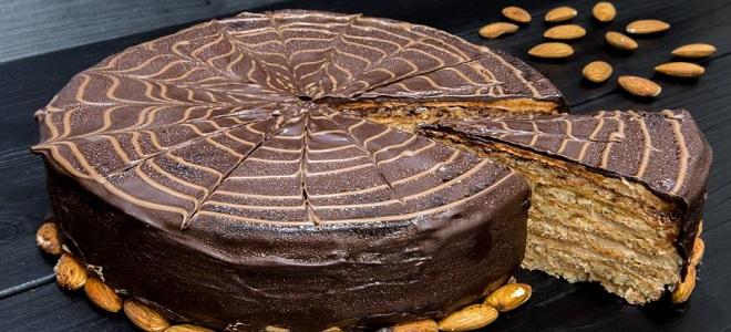 Шоколадный торт «Эстерхази»