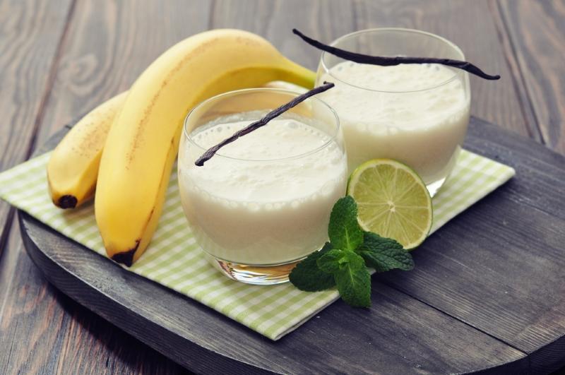 смузи с бананом на завтрак