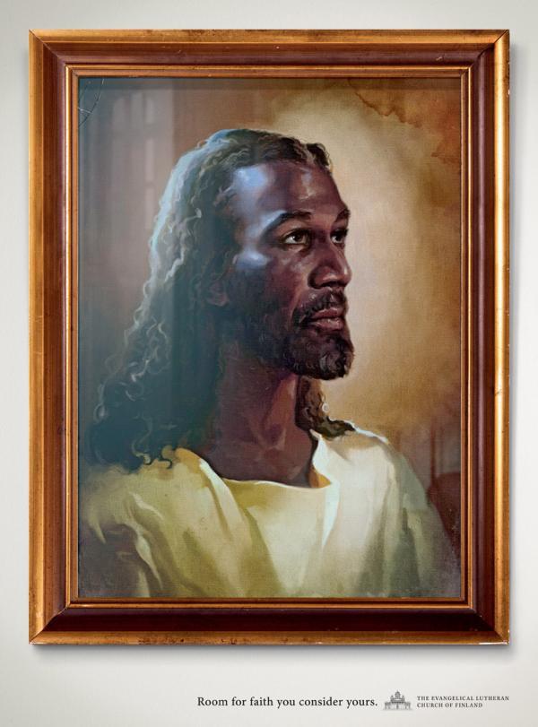 Black Jesus, The Evangelical Lutheran Church Of Finland, Tbwa\phs, Печатная реклама