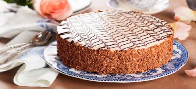 Как испечь торт «Эстерхази» в домашних условиях