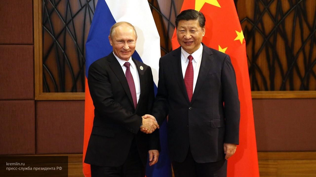 Началась онлайн-трансляция встречи Путина и Си Цзиньпина на ВЭФ-2018