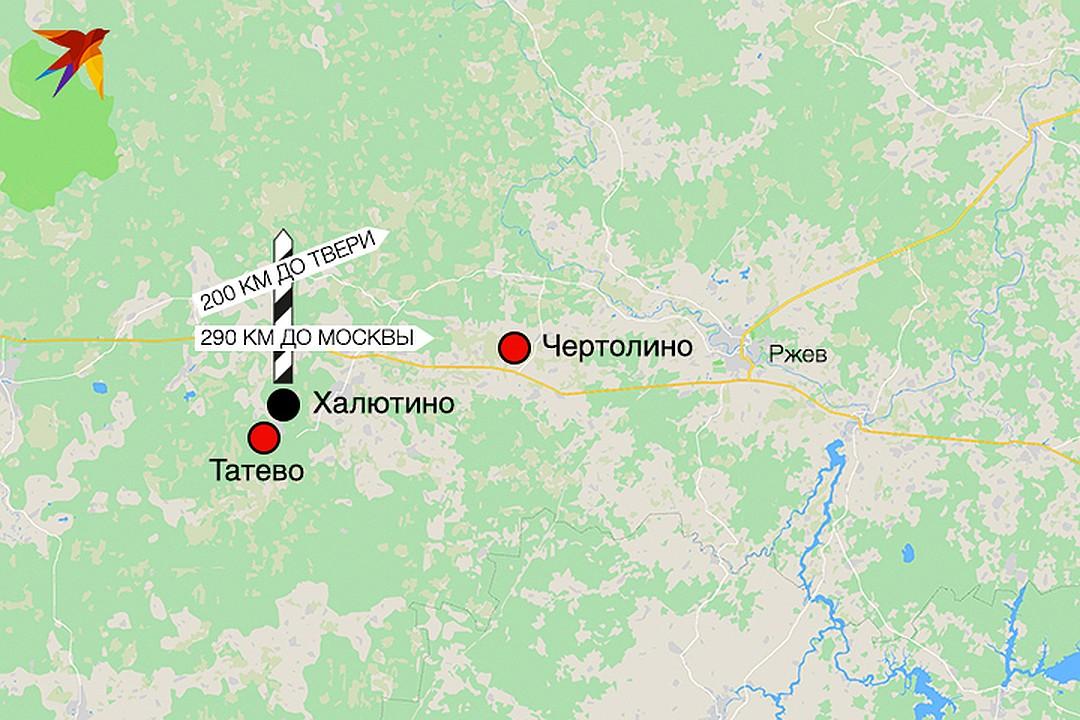 До Твери от Халютино две сотни километров, Москва - еще дальше. Фото: Рушан КАЮМОВ