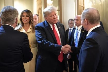 Трамп пригласил Путина в Белый дом