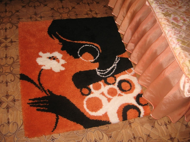 Мягкий коврик своими руками