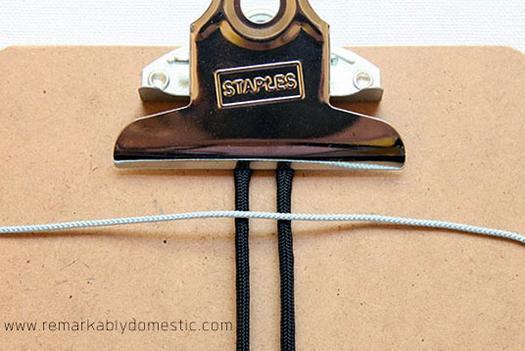 Как плести браслеты из шнурков