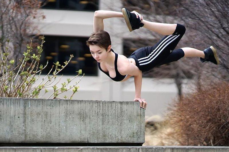 19-летняя американка потрясла мир своей невероятной гибкостью Мария Пуччарелли, в мире, гибкость, девушка, красота, люди, тело