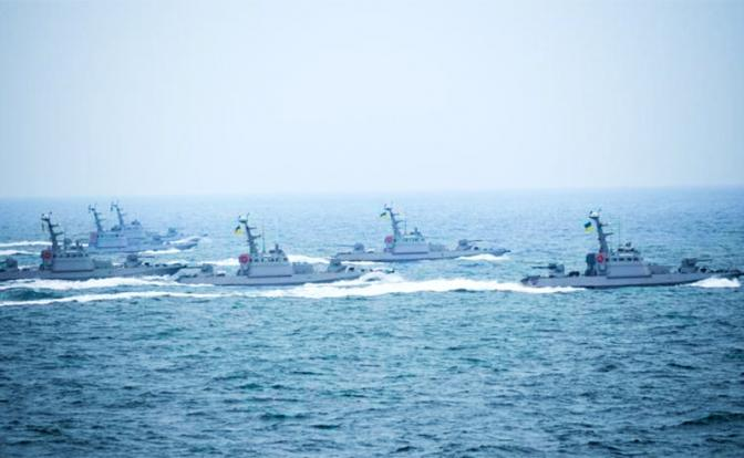 23 февраля «Гюрза» и «Кентавр» ВМС Украины проверят на прочность оборону России