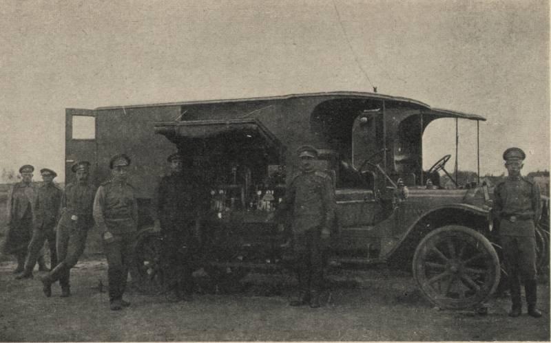 Радиоразведка на Русском фронте Первой мировой войны. Часть 1