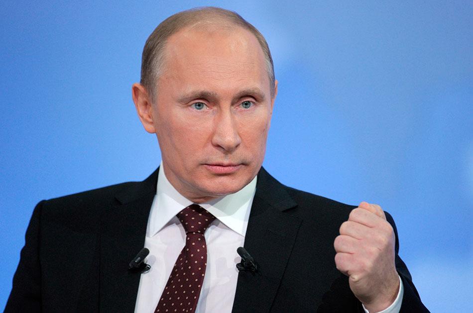 Самодержец Путин