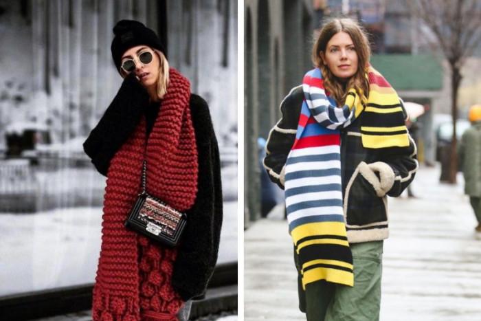6 идей, как можно круто выглядеть в шарфе