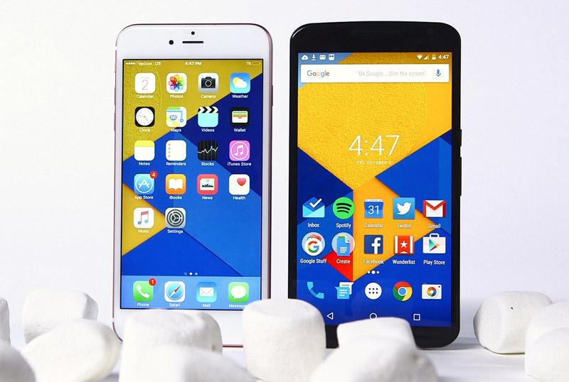 Android O может лишить iOS главного преимущества