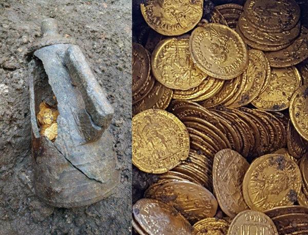 В Италии нашли золотые монет…