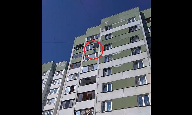 В Петербурге маленькая девоч…