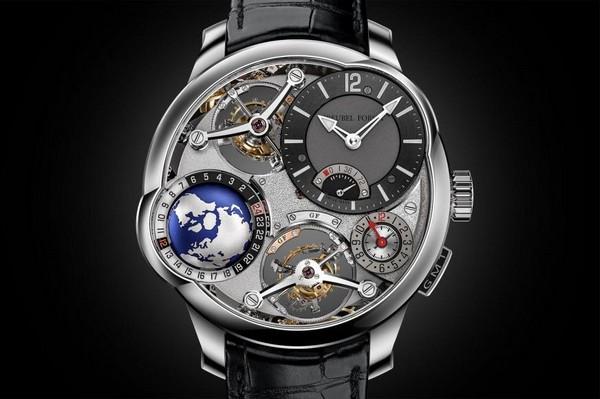 Новые часы от Greubel Forsey c вращающимся глобусом и четырном турбийном стоят 825.000$