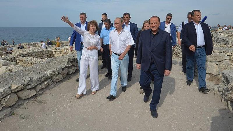 Берлускони назвал Крым самым красивым регионом России
