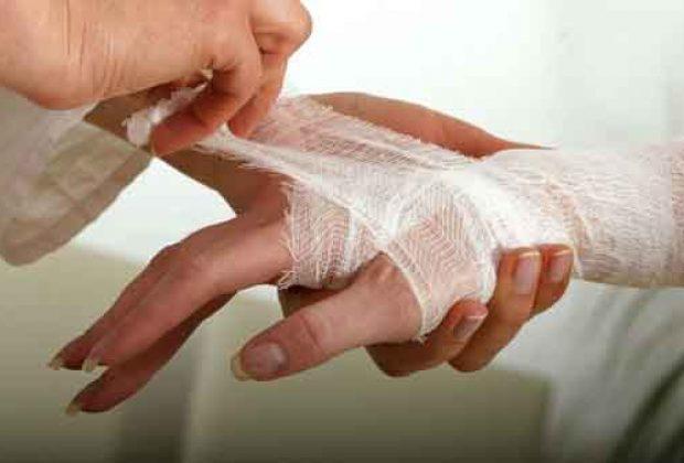 Скорая помощь при бытовых травмах