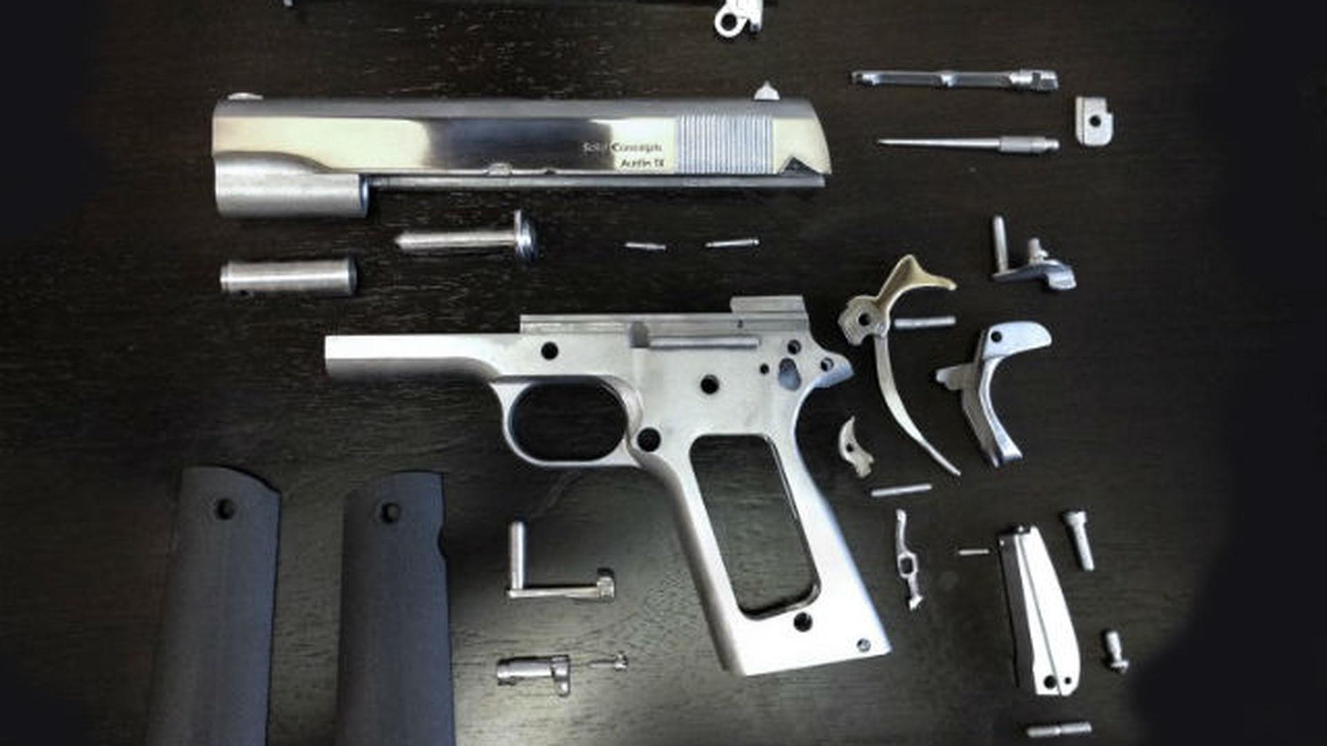 Пистолеты из 3D-принтера вернулись, и теперь их уже не остановить