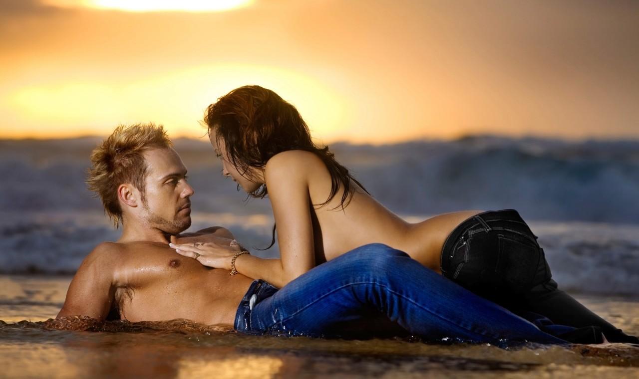 Секс На Пляже