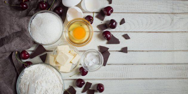 бисквитные батончики: ингредиенты