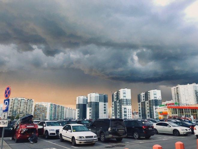 Следующая неделя в Петербурге начнется с непогоды