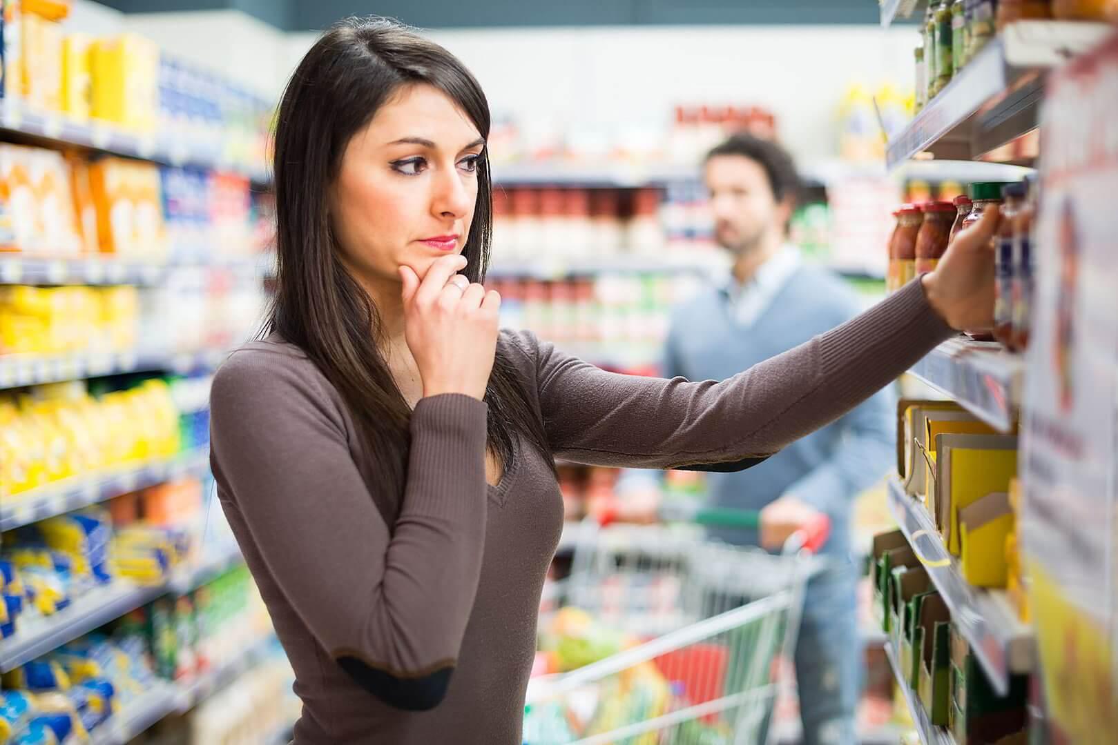 4 продукта в магазине, у которых нельзя проверить срок годности