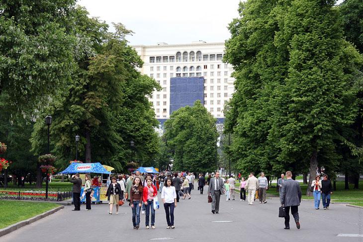 Александровский сад сегодня