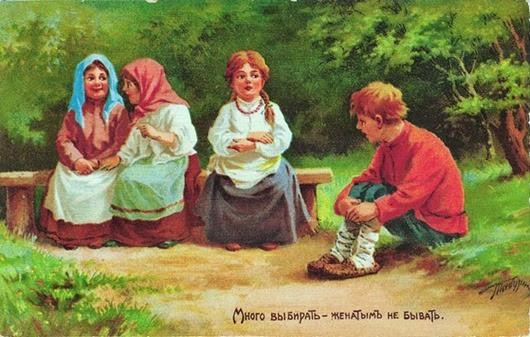 Полные варианты известных русских поговорок