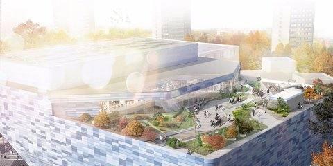 Открытые летние террасы появятся на крышах 25 культурно-досуговых центров в Москве