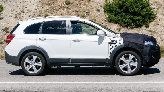 Chevrolet Captiva готовится к очередному обновлению