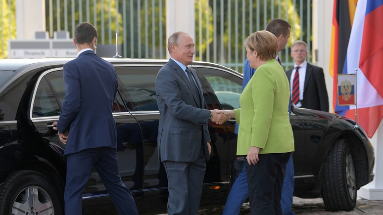 СМИ ФРГ: встреча Путина и Меркель – перезагрузка российско-немецких отношений