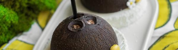 Тропический десерт с кокосом…
