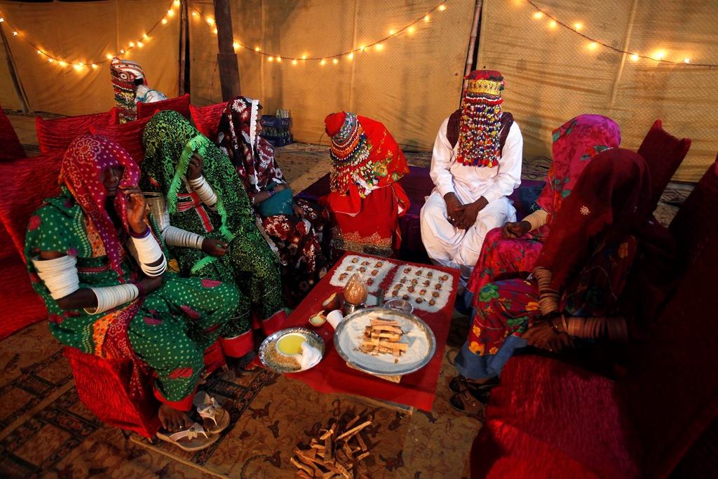 Индуистская свадьба в Пакистане