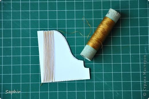 Мастер-класс Квиллинг: ЕЩЁ РАЗ ПРО...Пошаговый мастер-класс Бумажные полосы. Фото 34