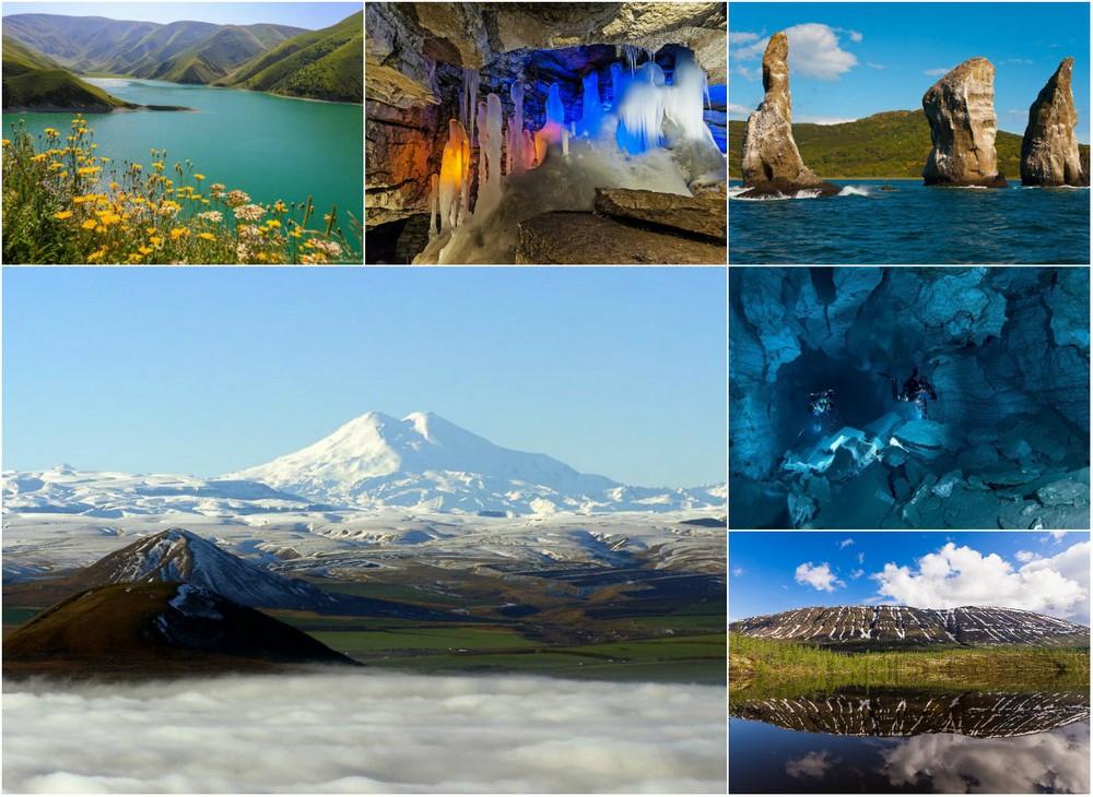 10 самых красивых природных достопримечательностей России