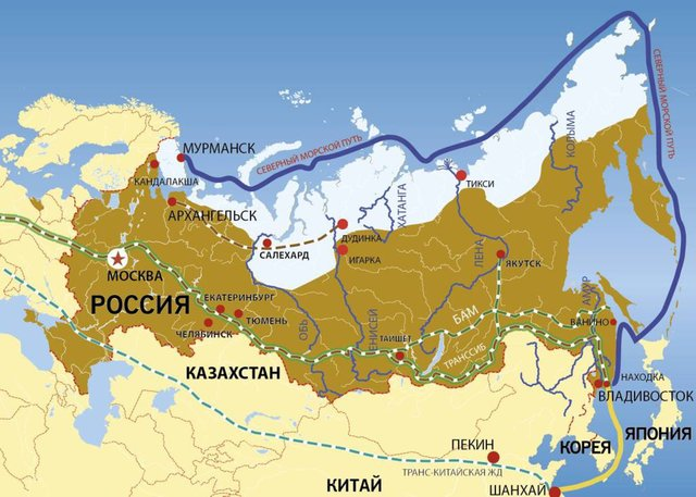 Россия захватит Северный мор…
