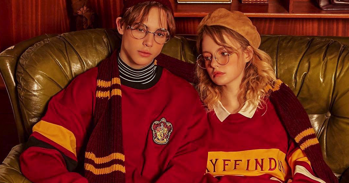 Korean Brand Collaborates With Warner Bros To Launch A 90s-Inspired Harry Potter Collection