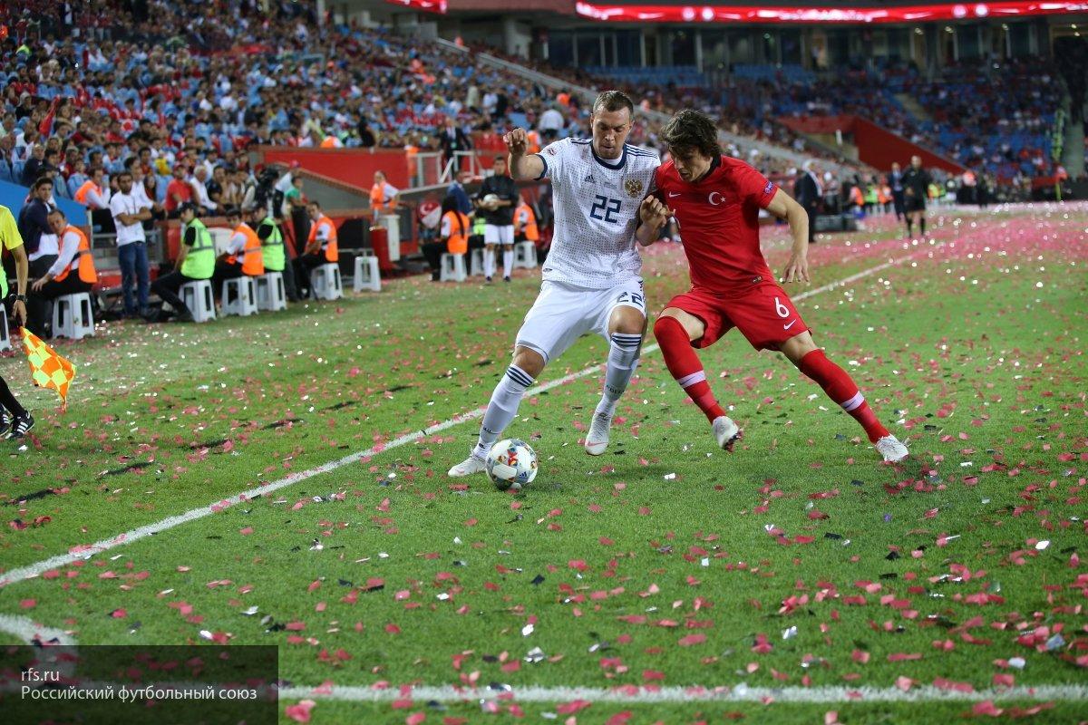 Стали известны составы сборных России и Швеции на матч Лиги наций
