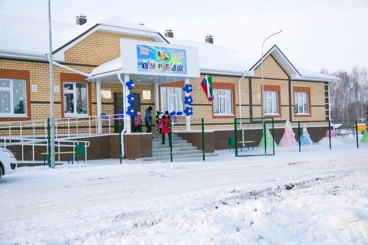 Сельский детский сад на 50 мест открыт в Татарстане Хорошие, добрые, новости, россия, фоторепортаж