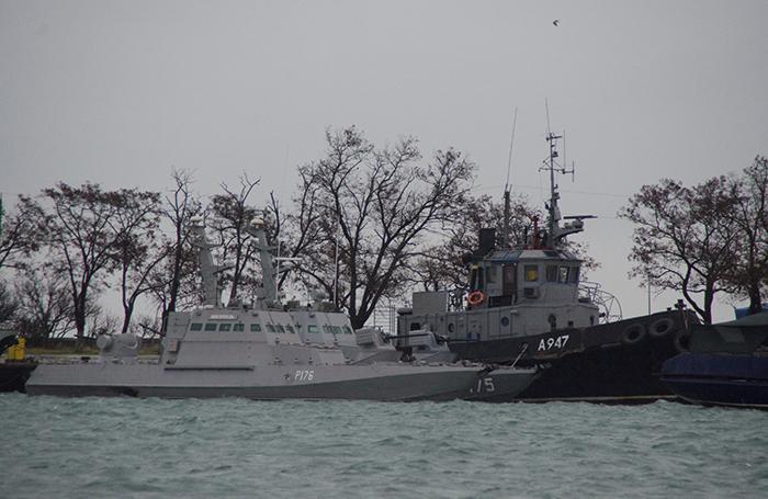 Первые санкции против России за инцидент в Керченском проливе