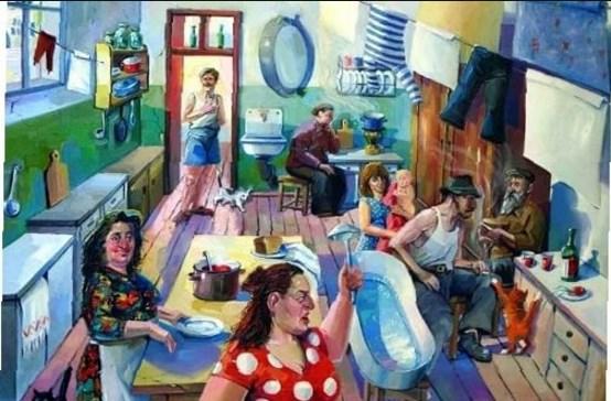 Как проучили нахальную и жадную соседку в коммуналке… (Инструкция из жизни)