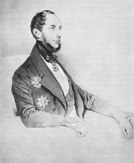 барон Луи-Якоб-Теодор ван Геккерн де Беверваард