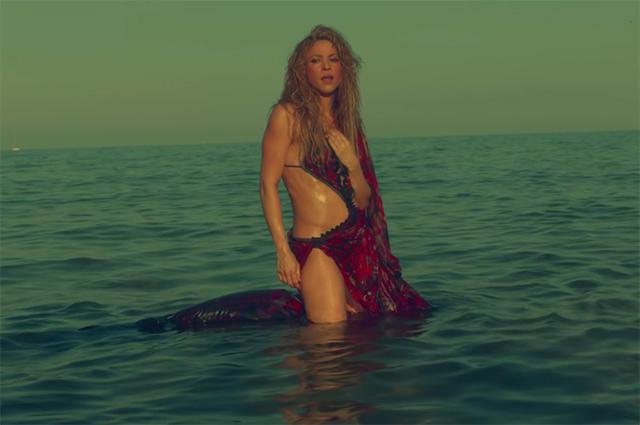 Шакира представила сексуальн…