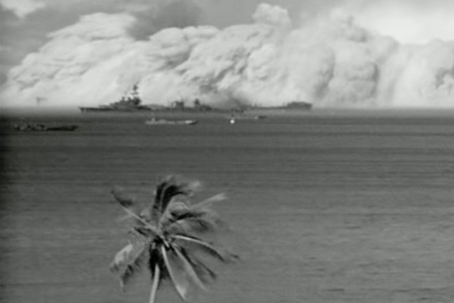 Искусственные цунами от атомной бомбыл